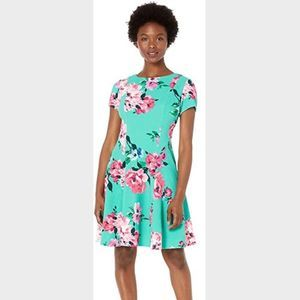 Jessica Howard Floral Knit Dress NWT